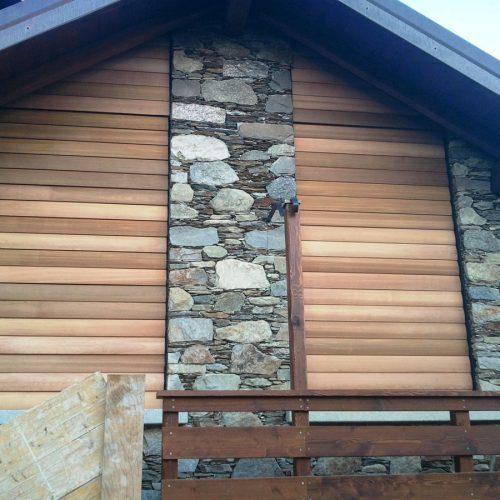 Frangisole in legno
